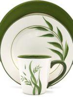 薩凡納綠葉餐具組